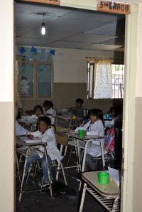 A fifth grade classroom